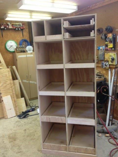 Diy Freestanding Pantry With Pullout Drawers Wilker Do 39 S