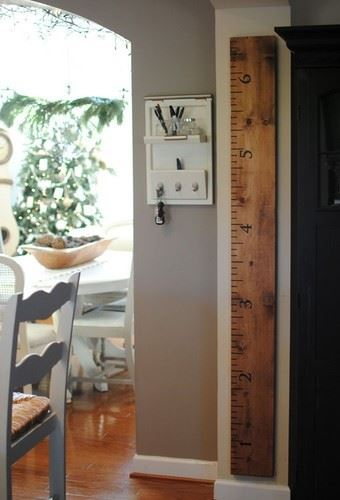 Diy Growth Chart Ruler Wilker Dos
