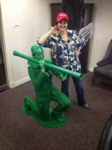 Diy green army man halloween costume wilker dos 1 since i knew i would be painting everything green i went to goodwill and looked for anything that would look military once i painted it and found these solutioingenieria Gallery