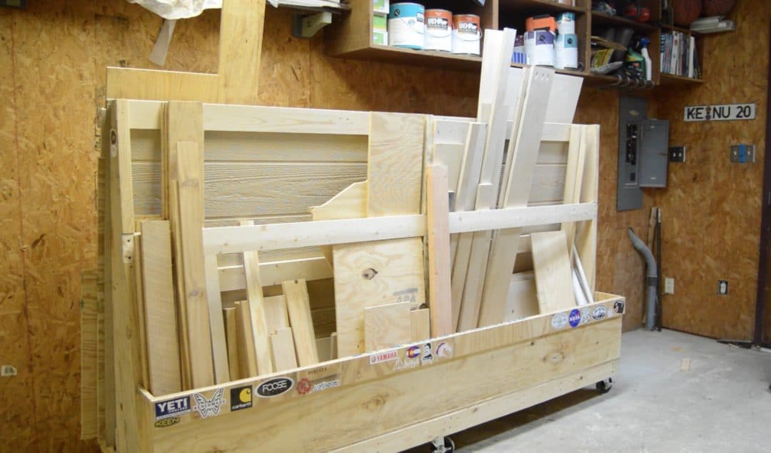 Then of course there is plywood storage