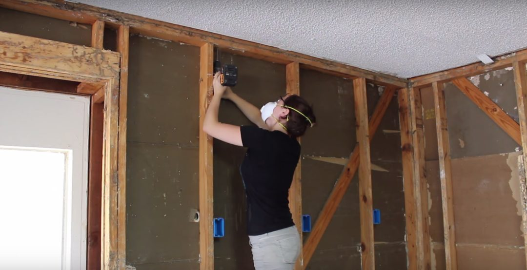 Insulating A Garage Adding Outlets And Installing Osb Boards House Wiring Outlet Height 5
