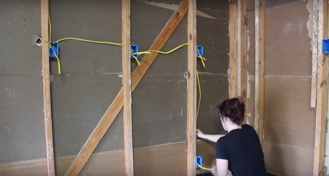 Insulating a garage adding outlets and installing osb for How to wire a new room addition