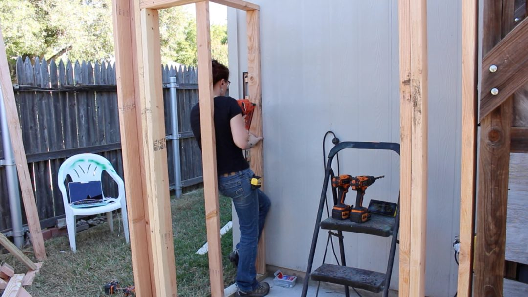 Building A Lean To Shed Framing And Siding Wilker Do S
