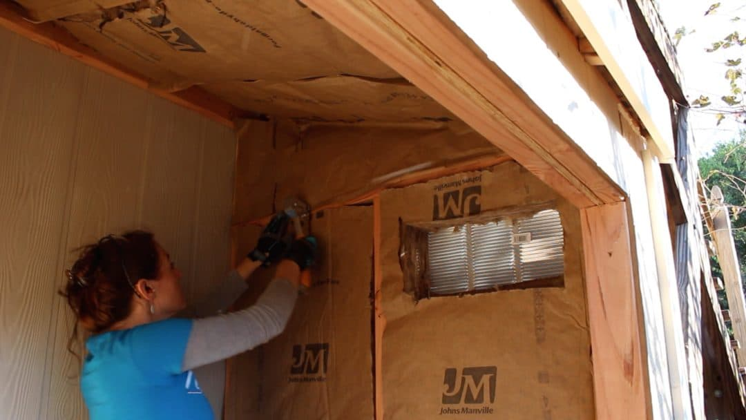 Building A Lean To Shed Trim And Insulation Wilker Do S
