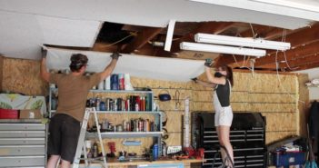 Garage Ceiling Feature