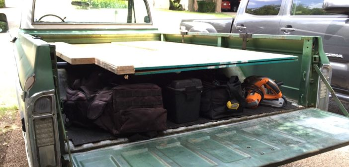 Truck Bed Rack Feature