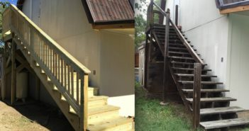 Building an Outdoor Staircase