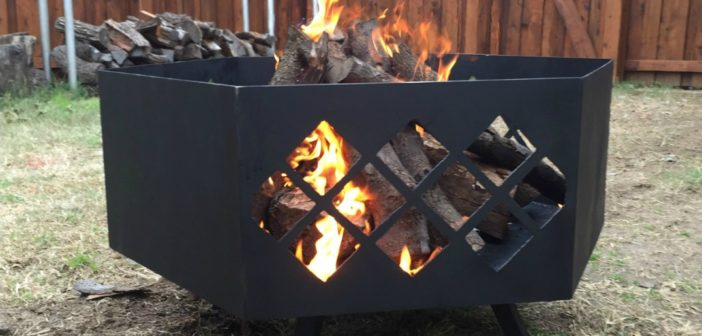 Making a Large Custom Steel Fire Pit