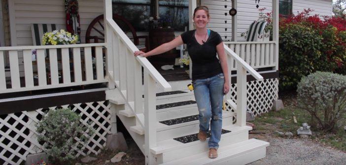 Building Front Porch Steps