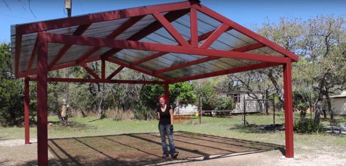 Building a Metal Carport  – Part 2