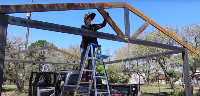 Building a Metal Carport Part 1