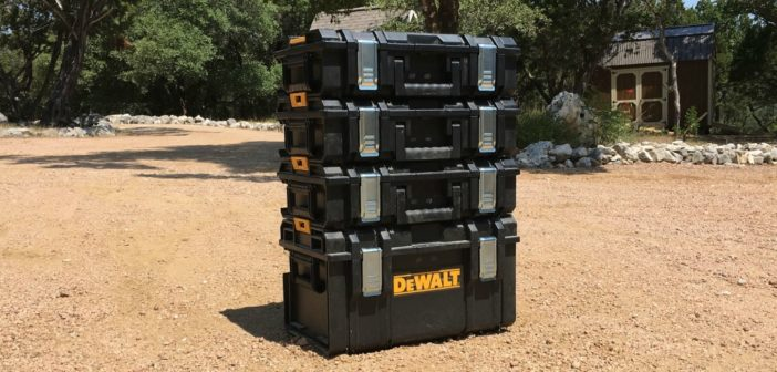 Review of DeWalt Tough System Products.